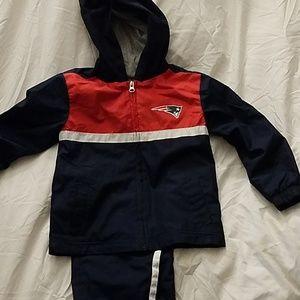 Patriot's track suit sz 4T